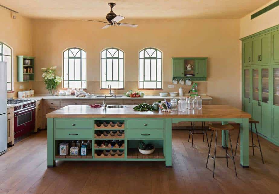 Rustic wooden kitchens