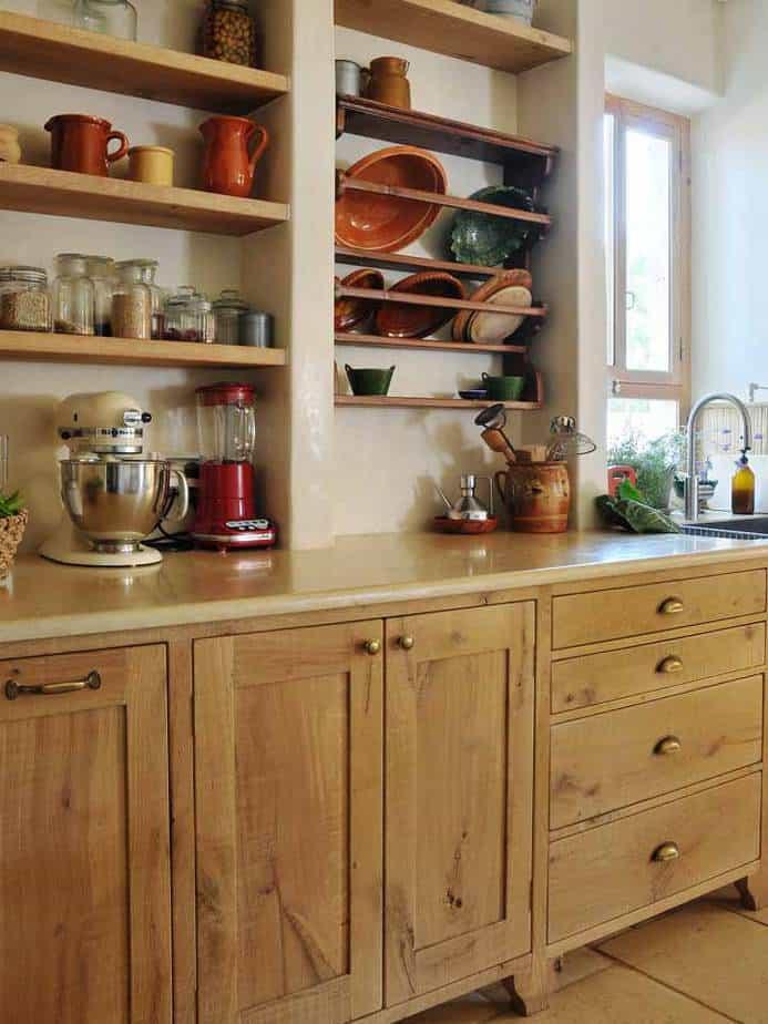 מטבחים כפריים מעוצבים בסגנון עכשווי