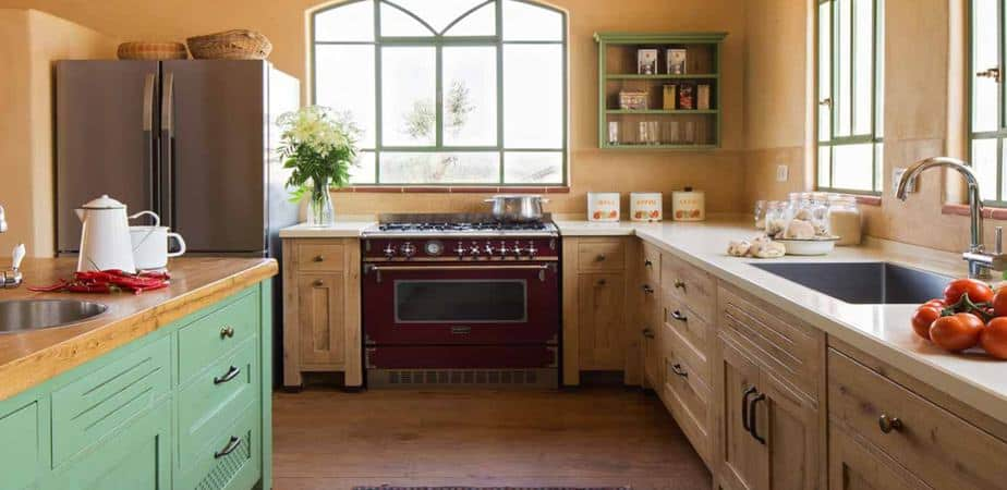 מטבח מעוצב בסגנון איטלקי